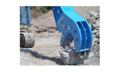 Model HCP, HCP-R - Fixed and Rotating Demolition Pulverizers