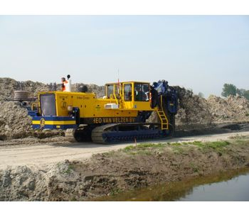 Dewatering Trenchers for Horizontal Dewatering - Water and Wastewater