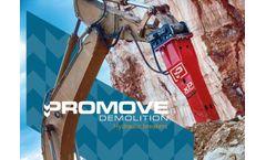 Promove - Model XP Line - Hydraulic Breaker - Brochure