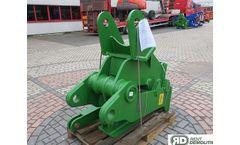 Rent Demolition - Model D Series - Hydraulic Fixed Pulveriser