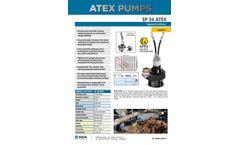 doa - Model SP36 ATEX - Hydraulic Trash Pump Brochure