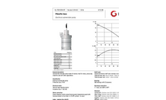Minette Inox - Stainless Steel Pump Brochure