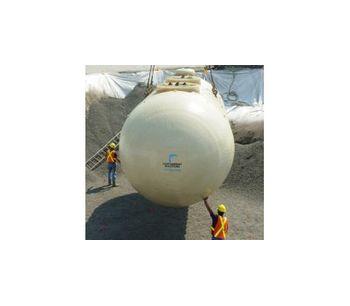 CSI - Triple-Wall Fiberglass Tank For Petroleum Storage