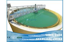Shanghai Jorsun - Model ZXN series - sludge thickener