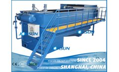 Shanghai Jorsun - Model Made in China series - integrated dissolved air flotation (DAF)