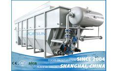 Shanghai Jorsun - Model SDAF series - High Efficient sedimentation Dissolved Air Flotation