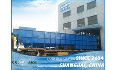 Shanghai Jorsun - Model DAF2 series - Sedimentation dissolved air flotation