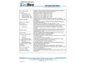 Medora GridBee - Model GF10000C - Grid-Powered Mixers for Odor Mitigation - Technical Data