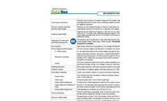 Medora SolarBee - Model SB10000PW - Technical Data
