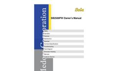 Medora SolarBee - Model SB2500PW - Floating Mixer - Manual