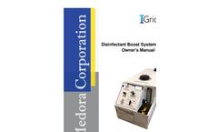 Medora - Model DBS-125 - Portable Disinfectant Booster System - Operators Manual
