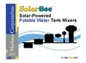 SolarBee - Model SB10000PW - Floating Solar-Powered Potable Storage Tank Mixer