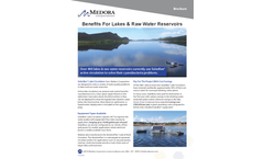 SolarBee - Benefits In Lakes & Raw Water Reservoirs - Brochure