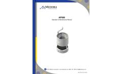 Medora GridBee - Model AP500 - Air-Powered Wet Well Mixer - Manual