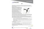 Model SN1 - Small Tank Spray Aeration System (THM/VOC Removal) - Datasheet