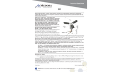 Model SN1 - Small Tank Spray Aeration System (THM/VOC Removal) - Datasheet
