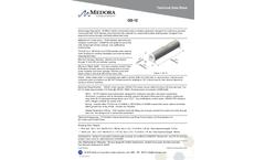 Medora - Model GS-12 - Submersible Potable Water Storage Tank Mixers - Datasheet