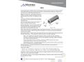Medora - Model GS-9 - Submersible Water Storage Tank Mixers - Datasheet