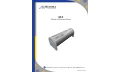 Medora - Model GS-9 - Submersible Water Storage Tank Mixers - Manual