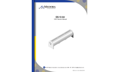 Medora - Model GS-12 - Air Submersible Water Storage Tank Mixers - Manual