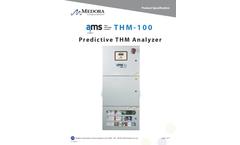 Medora - Model AMS THM-100 - Predictive Trihalomethane Analyzer - Brochure