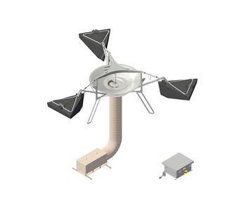 Medora GridBee - Model GF5000PW - Floating Electric-Powered Potable Storage Tank Mixer