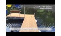 AerationPlus Lake & Pond Circulator Demonstration Video