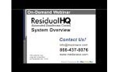 On-Demand Webinar: ResidualHQ Automated Disinfectant Control System (14 minutes) Video