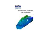 SonTek - Model IQ - Acoustic Doppler Velocity Meter Brochure