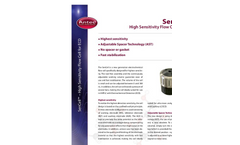 SenCell - Model UHPLC/ECD - High Sensitivity Flow Cell Datasheet