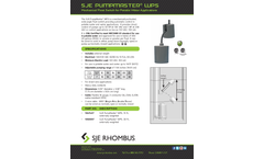 SJE PumpMaster - Model WPS - Potable Water Pump Float Switches Brochure
