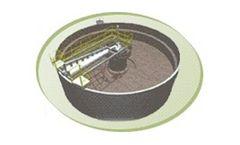 KWT - Model Sedicell - Dissolved Air Flotation (DAF) Clarifier for Sludge Thickening