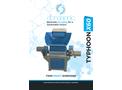 Typhoon - Model X60 - Twin Shaft Shredders Machine - Datasheet