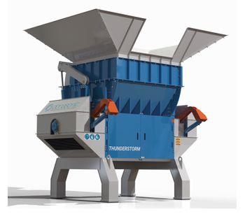 Thunderstorm - Model X225 - Single Shaft Shredder Machine