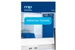 m+p international - Vibration Testing - Brochure