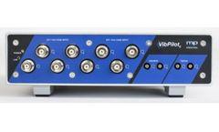 m+p VibPilot - 4/8-Channel front-End Measurement System