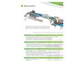 Besnard - Model CLA 1500 DB - Tubular Oyster Washing Machine