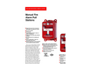Model M400 - Manual Fire Alarm Pull Station Brochure