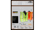 Non Rated Safety Vests with 1` Tape Brochure