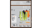 Non Rated Safety Vests with 2` Tape Brochure