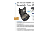 AD Systems - Model ST10 - On-Site Fuel Stability and Compatibility Tester Brochure