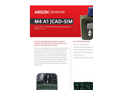Model M4A1 JCAD - Chemical Hazard Detection Simulator Brochure