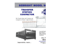 Sebright - Model 9884-T - Transfer Station Compactor - Brochure
