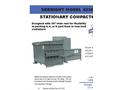 Sebright - Model 4236-1-4 - Stationary Compactor (75 Cubic Yard Capacity) - Brochure