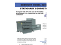 Sebright - Model 4236-1-4 - Stationary Compactor (75 Cubic Yard Capacity) - Brochure