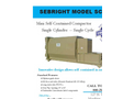 Sebright - Model SC-3548 - Mini Self-Contained Waste Compactor - Brochure