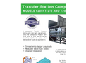 Sebright - Model 12084T6 & 12084T7 - Transfer Station Compactor (9 Cubic Yard Chamber Capacity) - Brochure