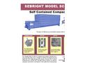 Sebright - Model SC-4064 - Self Contained Compactor - Brochure