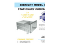 Sebright - Model 4260 - Stationary Compactor - Brochure