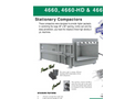 Sebright - Model 4660, 4660-HD & 4660-2 - Industrial Stationary Compactor - Brochure